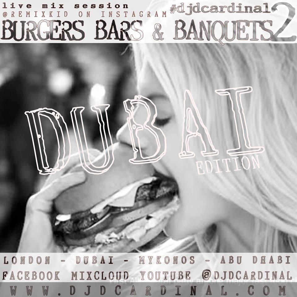 Burgers, bars & Banquets DJ Set
