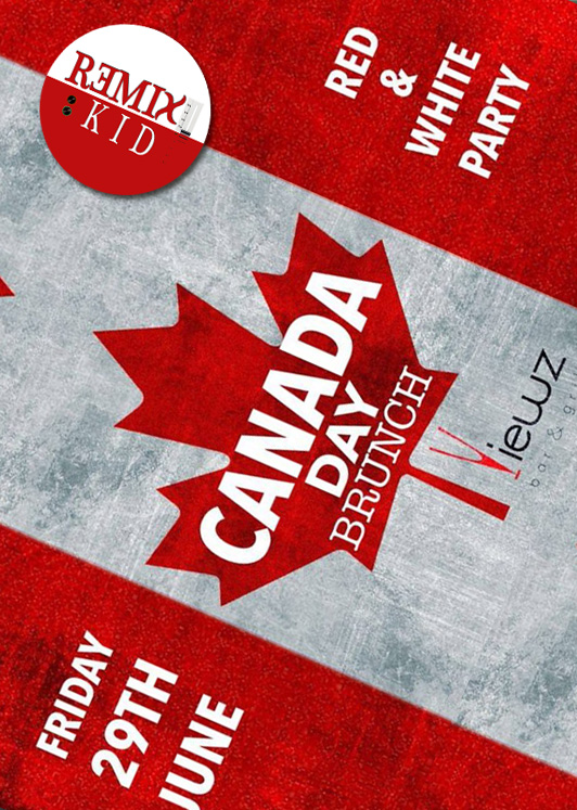 Canadian Day Brunch with DJ Remixkid
