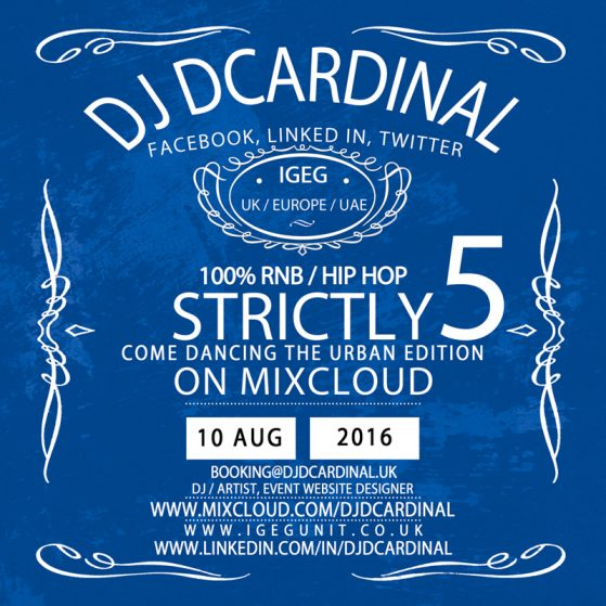 Strictly Come Dancing 5 by DJ Remixkid DCardinal