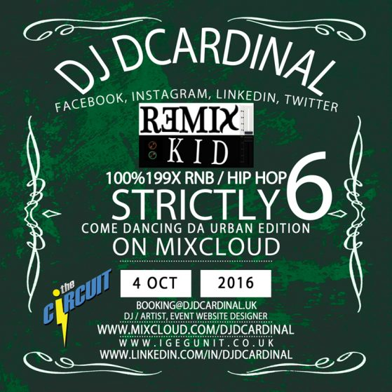 Strictly Come Dancing 6 - 199x by DJ Remixkid DCardinal